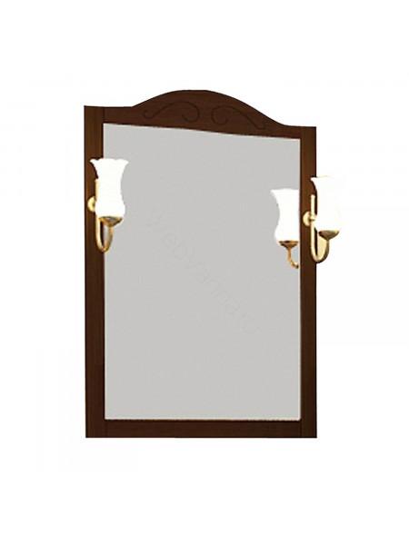 Зеркало Асб Флоренция 105 см, бук/тироль, с подсветкой