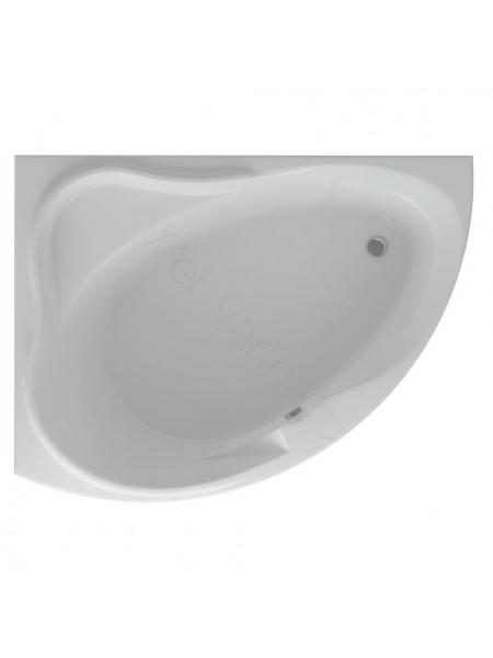 Акриловая ванна Акватек Альтаир 158x120 левая