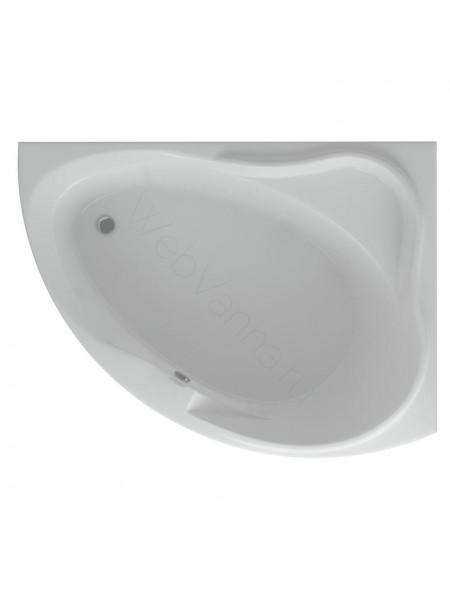 Акриловая ванна Акватек Альтаир 158x120 правая
