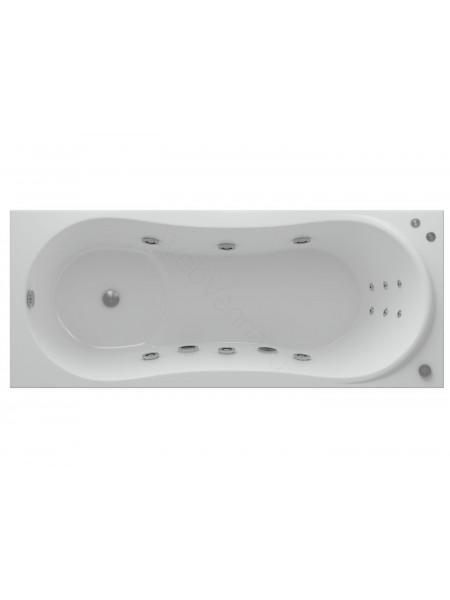 Акриловая ванна Акватек Афродита 150x70 аэромассаж, пневмоуправление