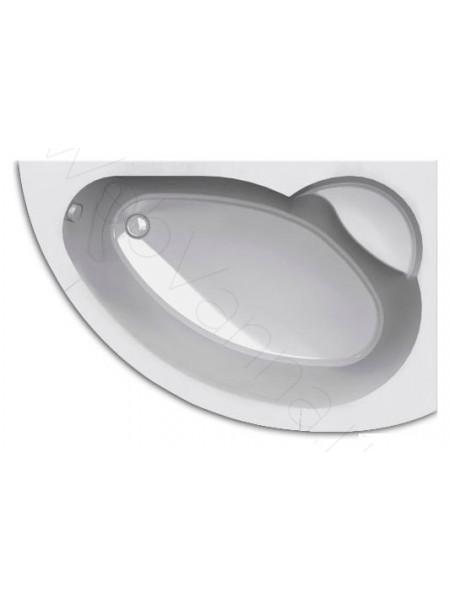 Акриловая ванна Акватек Аякс-2 170x110 правая