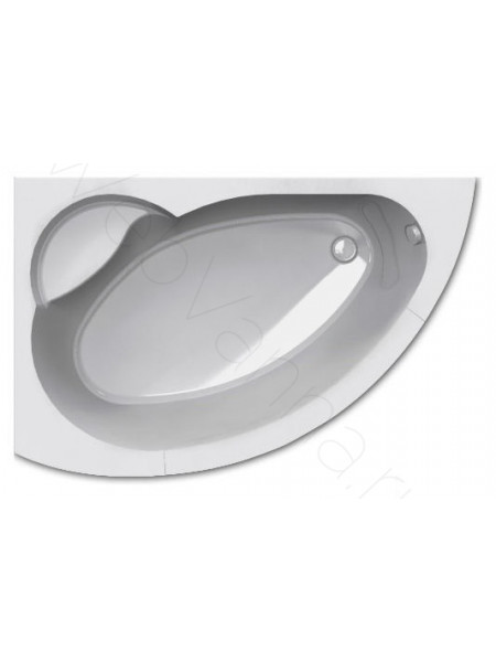 Акриловая ванна Акватек Аякс-2 170x110 левая
