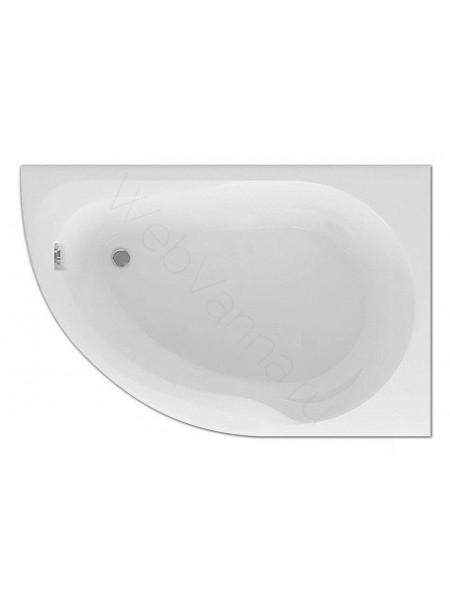Акриловая ванна Акватек Вирго 150x100 правая