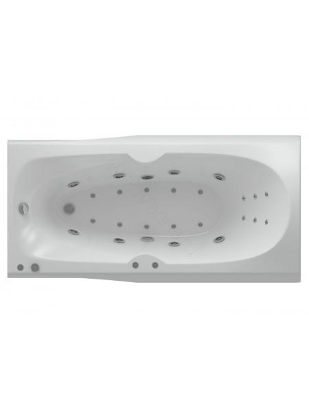 Акриловая ванна Акватек Европа 180x80 аэромассаж, пневмоуправление