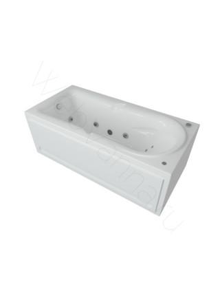Акриловая ванна Акватек Леда 170x80 аэромассаж, электронное управление