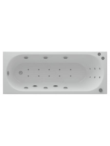 Акриловая ванна Акватек Оберон 160x70 аэромассаж, пневмоуправление