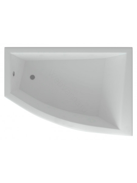 Акриловая ванна Акватек Оракул 180x125 правая