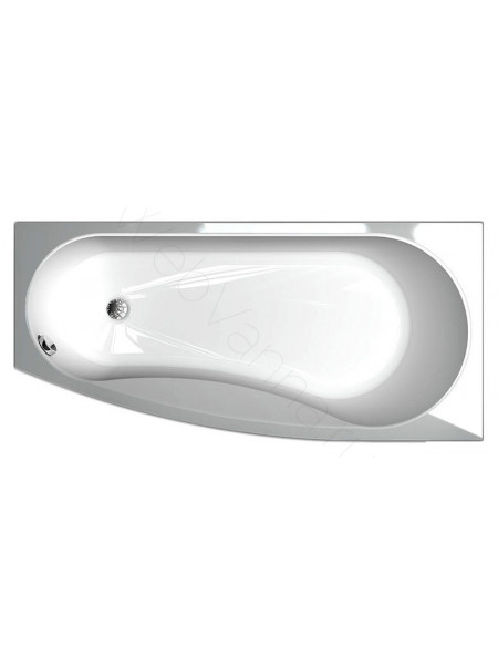 Акриловая ванна Акватек Пандора 160x75 правая