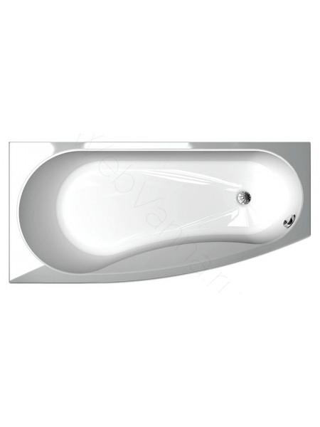 Акриловая ванна Акватек Пандора 160x75 левая