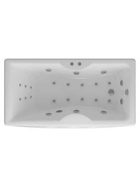 Акриловая ванна Акватек Феникс 150x75 аэромассаж, пневмоуправление
