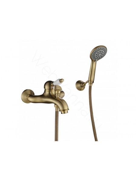 Смеситель для ванны и душа Aksy Bagno Biti 301 bronze