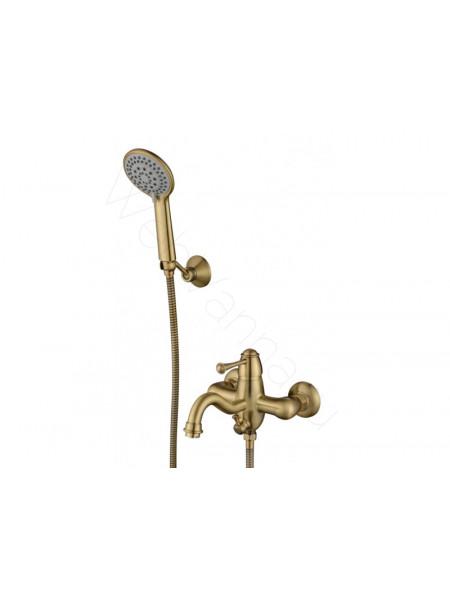 Смеситель для ванны и душа Aksy Bagno Bellezza 801 bronze