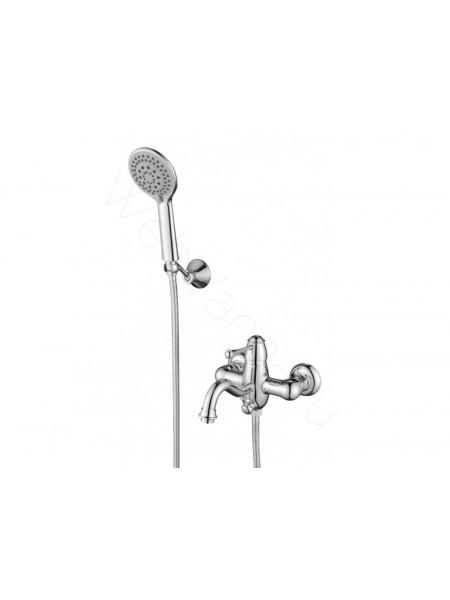 Смеситель для ванны и душа Aksy Bagno Bellezza 801 Chrome