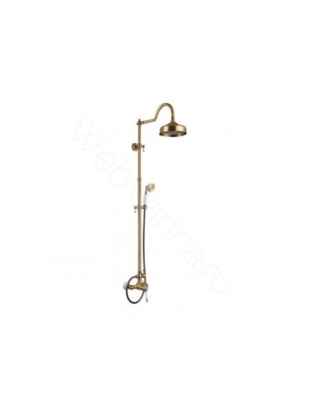 Душевая стойка Aksy Bagno Fa410-2002-2004 bronze, бронза