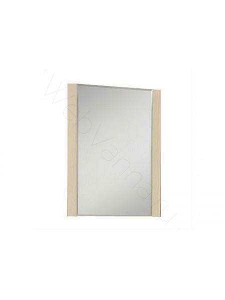 Зеркало Акватон Альпина 65 см, дуб молочный