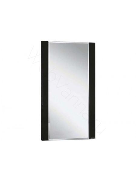 Зеркало Акватон Ария 50 см, чёрный глянец