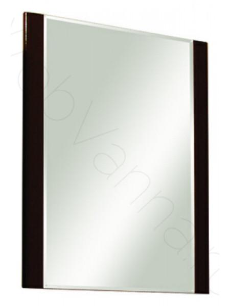Зеркало Акватон Ария 65 см, черный глянец