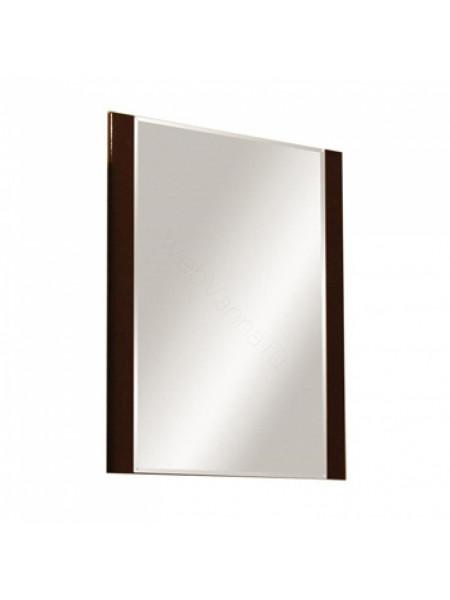 Зеркало Акватон Ария 65 см, тёмно-коричневое