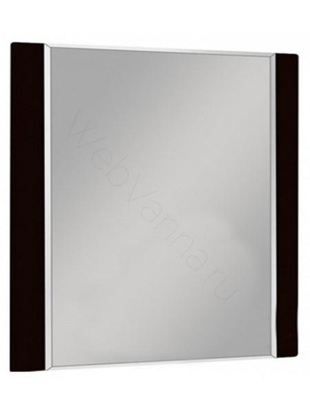 Зеркало Акватон Ария 80 см, тёмно-коричневое