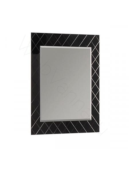 Зеркало Акватон Венеция 65 см, черное