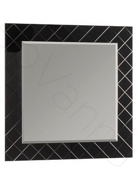 Зеркало Акватон Венеция 90 см, черное