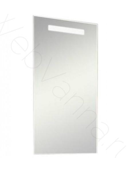 Зеркало Акватон Йорк 50 см, со светильником