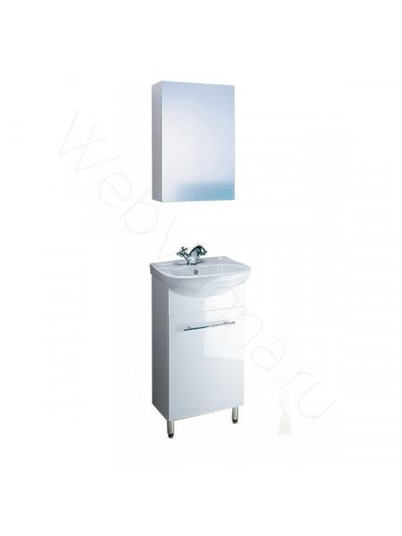 Комплект мебели Aqwella Мастер Бокс 45 белый