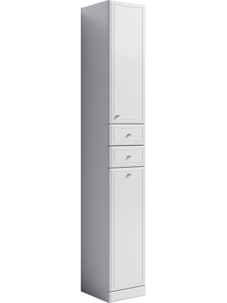 Пенал Aqwella Барселона П3, 30 см, белый