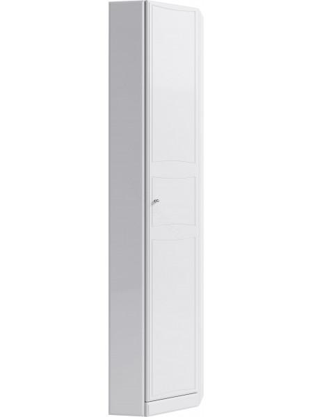 Пенал Aqwella Барселона П5/45, 45 см, белый, угловой