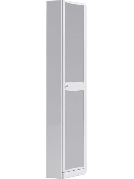 Пенал Aqwella Барселона П5/45/з, 45 см, белый, угловой