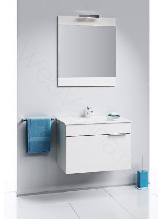 Зеркало Aqwella Бриг 60 см, с подсветкой, сосна магия