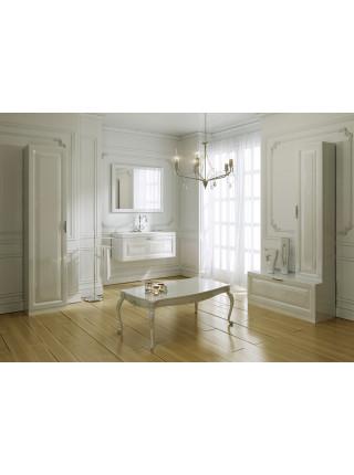 Зеркало Aqwella Империя 100 см, белое