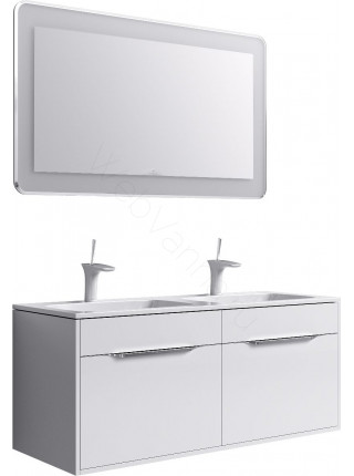 Зеркало Aqwella Малага 120 см, с подсветкой