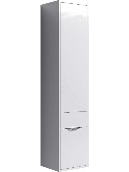 Пенал Aqwella Малага 30 см, левый/правый, белый