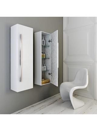 Пенал Aqwella Милан 35 см, белый