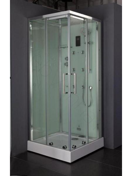 Душевая кабина Bandhours Beta 90х90 правая, прозрачное стекло