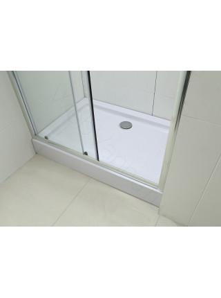 Душевая дверь Bandhours Mike 100D, 100 см, стекло прозрачное
