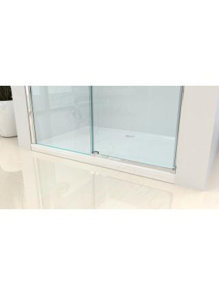 Душевая дверь Bandhours Queen 150, 150 см, стекло прозрачное