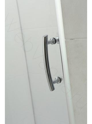 Душевая дверь Bandhours Snow 100D, 100 см, стекло прозрачное