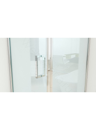 Душевой угол Bandhours Master 100, 100х100 прозрачное стекло