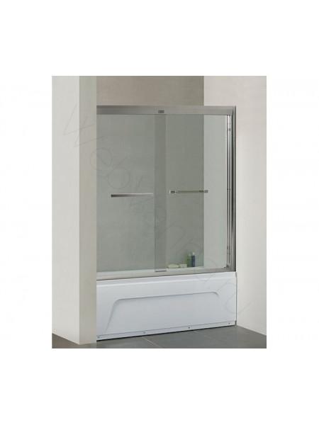 Шторка на ванну Bandhours Moon 150, стекло прозрачное
