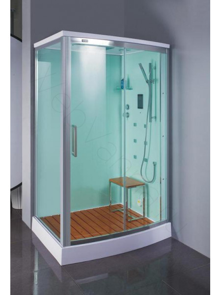 Душевая кабина Bandhours Omega 120х90 правая, прозрачное стекло