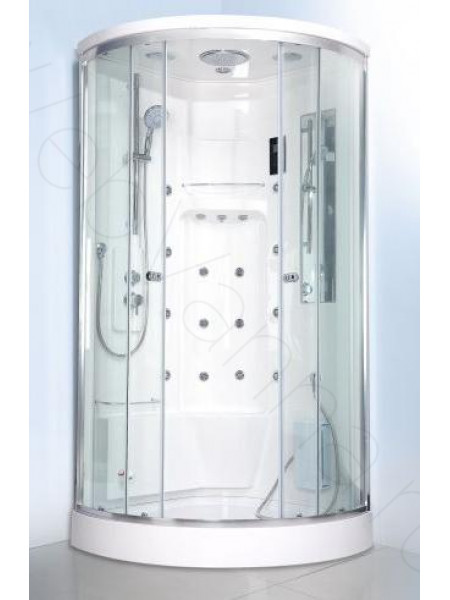 Душевая кабина Bandhours Optima 98х98, прозрачное стекло