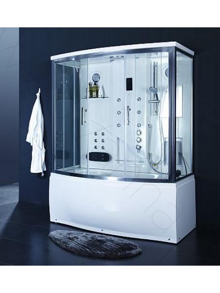 Комбинированный бокс Bandhours Pronto 170х100, прозрачное стекло