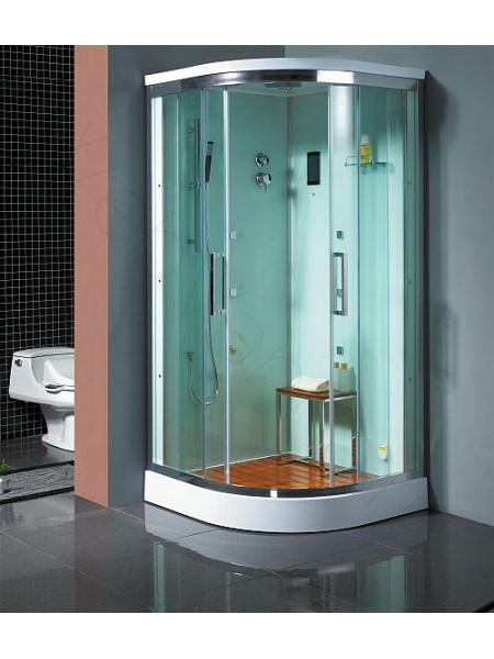 Душевая кабина Bandhours Victoria 100х100, прозрачное стекло