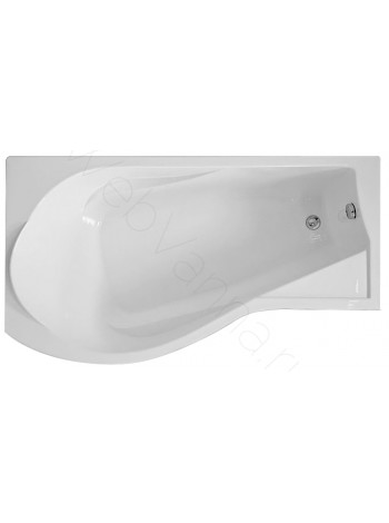Акриловая ванна Bas КАПРИ 170х80 L