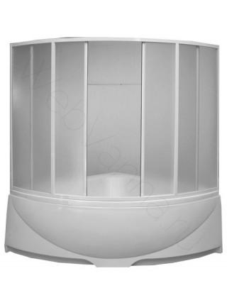 Шторка на ванну Bas Вотер 150х150