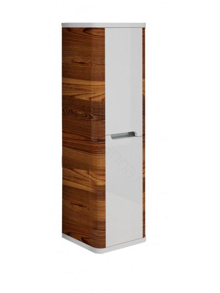 Пенал Edelform Иннато 36 см, б/ящ, одинарный, орех/белый
