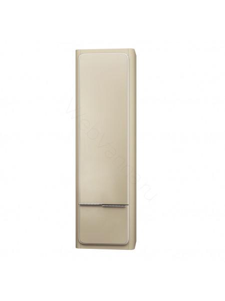 Пенал Edelform Кальма 41 см, с/ящ, одинарный, олива матовая/глянец