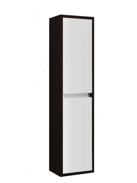 Пенал Edelform Константе 38 см, б/ящ, одинарный, венге с белым